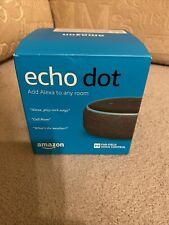 amazon echo dot Used 2 Weeks Only Black Boxed Free Postage
