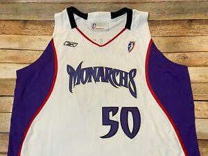 Authentic SACRAMENTO MONARCHS Jersey Tangela Smith 2003 WNBA Reebok TEAM ISSUE