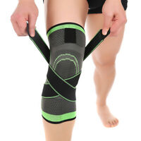 Women Men Workout Sports Knee Support Sleeve Compression Brace for Running