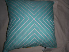 NOSTALGIA HOME DECORATIVE THROW PILLOW - 20 x 20 - AQUA