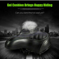 Comfort Wide Big Bum Mountain Road Bike Bicycle Sport Soft Pad Saddle Seat