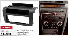 CARAV 11-080 1Din Kit de instalación de radio MAZDA 3 04-08; Axela 06-2008 w/poc
