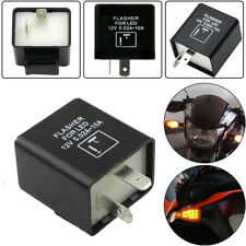 2-Pin Electronic Flasher Relay Replace For Turn Signal Light Fast Hyper Flash US