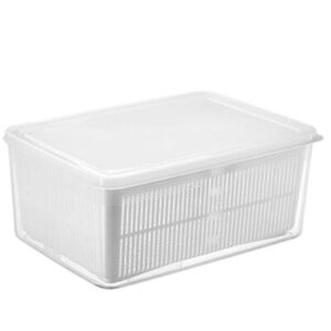 Fresh Produce Vegetable Fruit Storage Containers for Refrigerator - Produce