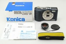 RARE NEW UNUSED Konica Digital Genbakantoku DG-2 Digital SLR Boxed from Japan