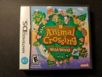 Animal Crossing: Wild World (Nintendo DS) CIB - All Docs - Cleaned/Tested