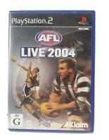 PS2 AFL Live 2004 Inc Manual