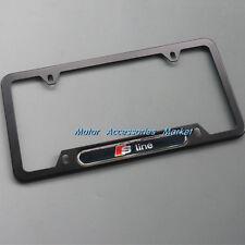 New Aluminium License Plate Frame For Audi #2SBL