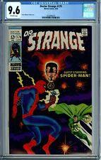DOCTOR STRANGE 179 CGC 9.6 RAREinHG SPIDER-MAN only app NEWCASE SilverAge 1969