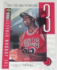 1997/98 Michael Jordan Upper Deck CC The Jordan Dynasty Insert Card #JO3 Ser #