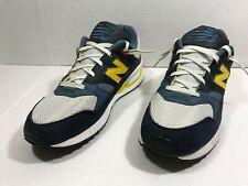 New Balance Men's Running Shoes SL-1 FIT Black Yellow White D M530BCP Sz 9
