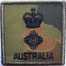 DPCU Army Australia Rank LTCOL Patch with Hook Backing