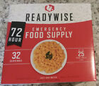 NEW IN BOX ReadyWise 72 Hour Emergency Food Supply 32 Servings