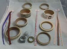 Mixed Lot of Scrapbooking Washi Tape Queen & Co Ribbons Word Tape