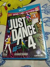 JUST DANCE 4 Wii U game NEW! SEALED!