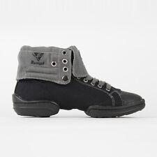 Rumpf Two Star Dance Sneaker schwarz/grau  Dance Tanz Sneaker Tanzschuhe