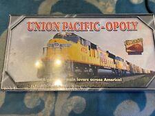 UNION PACIFIC-OPOLY El Paso Collectors Edition Monopoly Game Train Railroad NEW
