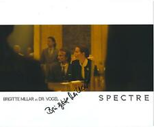 BRIGITTE MILLAR SIGNED 8x10 SPECTRE JAMES BOND 007 PHOTO - UACC RD AUTOGRAPH