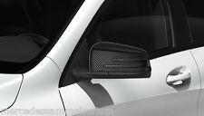Mercedes Benz Original Exterior Mirror Caps Set Carbon W 246 B-Class Nip