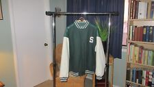 Michigan State Spartans Jacket, Steve and Barry's, Green, Men's XXL- EXCELLENT