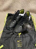 Nike Tiempo Legend 8 Elite AG Black White Neon BQ2696-008 Size 9