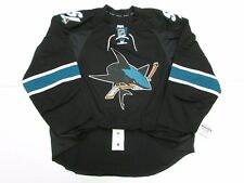 SAN JOSE SHARKS AUTHENTIC THIRD TEAM ISSUED REEBOK EDGE 2.0 7287 JERSEY SIZE 56