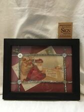 "Vintage Style ""FRAMED CHRISTMAS CARD ART"" Annie Schickel Scrapbook/Postcard"