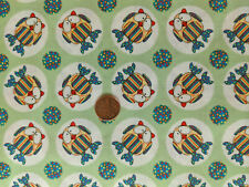Windham Fabrics by the 1/2 yard Green Owls 32079