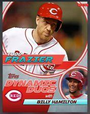 Topps Bunt - Dynamic Duos: Todd Frazier w Hamilton (2014) -MLB Digital Card RARE