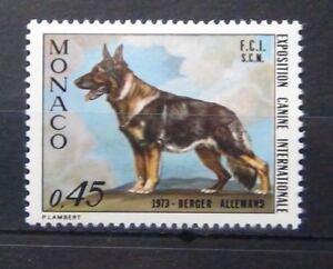 Monaco 1973 International Dog Show MNH