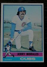 Jerry Morales, Cubs,  1976  #79 Topps Baseball Card, GOOD CONDITION