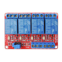 4Kanal Relaismodul 12V Relay Modul Mit Optokoppler H/L Pegel Trigger für Arduino