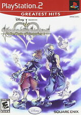 Kingdom Hearts RE: Chain of Memories [PlayStation 2 PS2 RPG Square Enix] NEW