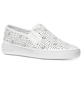 Michael Kors Kane Perforated Slip-On Sneakers