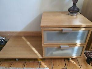 IKEA HOPEN Bedside Drawers
