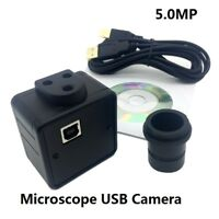 5MP Microscope Electronic Eyepiece USB Video CMOS Camera Industrial Digital 23.2