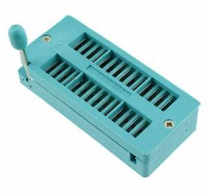 28 Pin ZIF IC DIP Socket 2.54mm