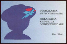Finland 1992 SG#SB33 Noted Finnish Women MNH Stamp Booklet #C24359