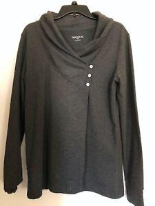 Danskin  Dark Grey yoga jacket  Large