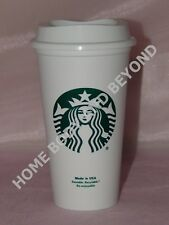 STARBUCKS Reusable Recyclable Grande 16 OZ Plastic Coffee Tea Cup Mug