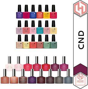 CND Shellac - Color Coat 7.3ml | Luxe Gel Nail Polish 12.5ml - *Various Shades*
