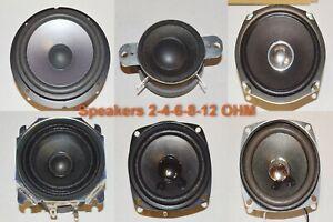 Samsung Sony Yamaha Unbranded Speakers 4-6-8-12 ohm Various size Watts #SB2