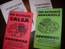 Salsa & Guacamole Cookbook Lote (2) + Regalo Gratis Mexicano