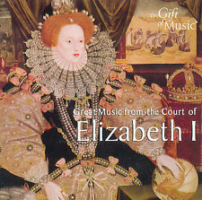 Great Music from the Court of Elizabeth I CD (2008) new and sealed