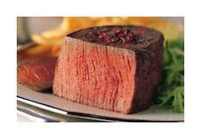 2 USDA CHOICE Filet Mignon Steaks 5oz Certified Hereford/Beef/Steak/Tenderloin