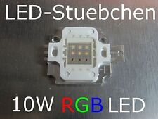10w LED RGB 9-chip common ánodo