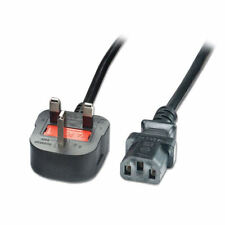 Cable-Tex UK Plug to IEC Kettle Lead 2m Power Cord Cable PC Mains