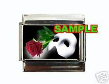 Phantom of the Opera Logo #1 Custom Italian Charm Mask