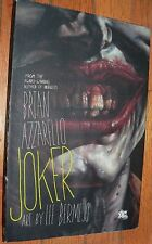 Joker  hardcover  Brian Azzarello  Lee Bermejo