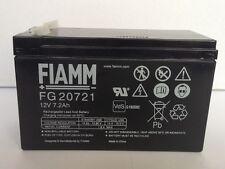 FIAMM  batteria  12 Volt, 7,2 Ah  FG20721
